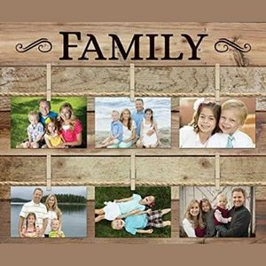 FAMILY Rustic Distressed 18x21 Wood Plank Pallet